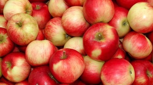 röda äpplen